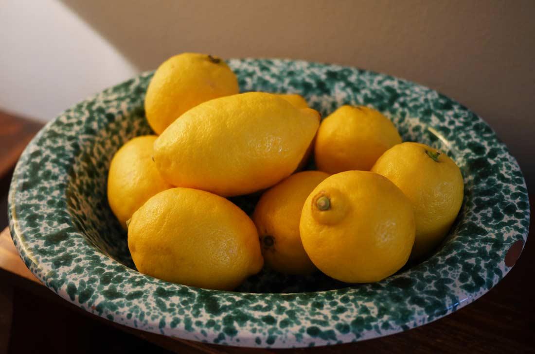 saladier de citrons