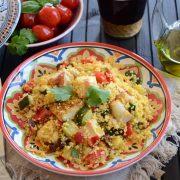 couscous micro grill Tupperware au poulet