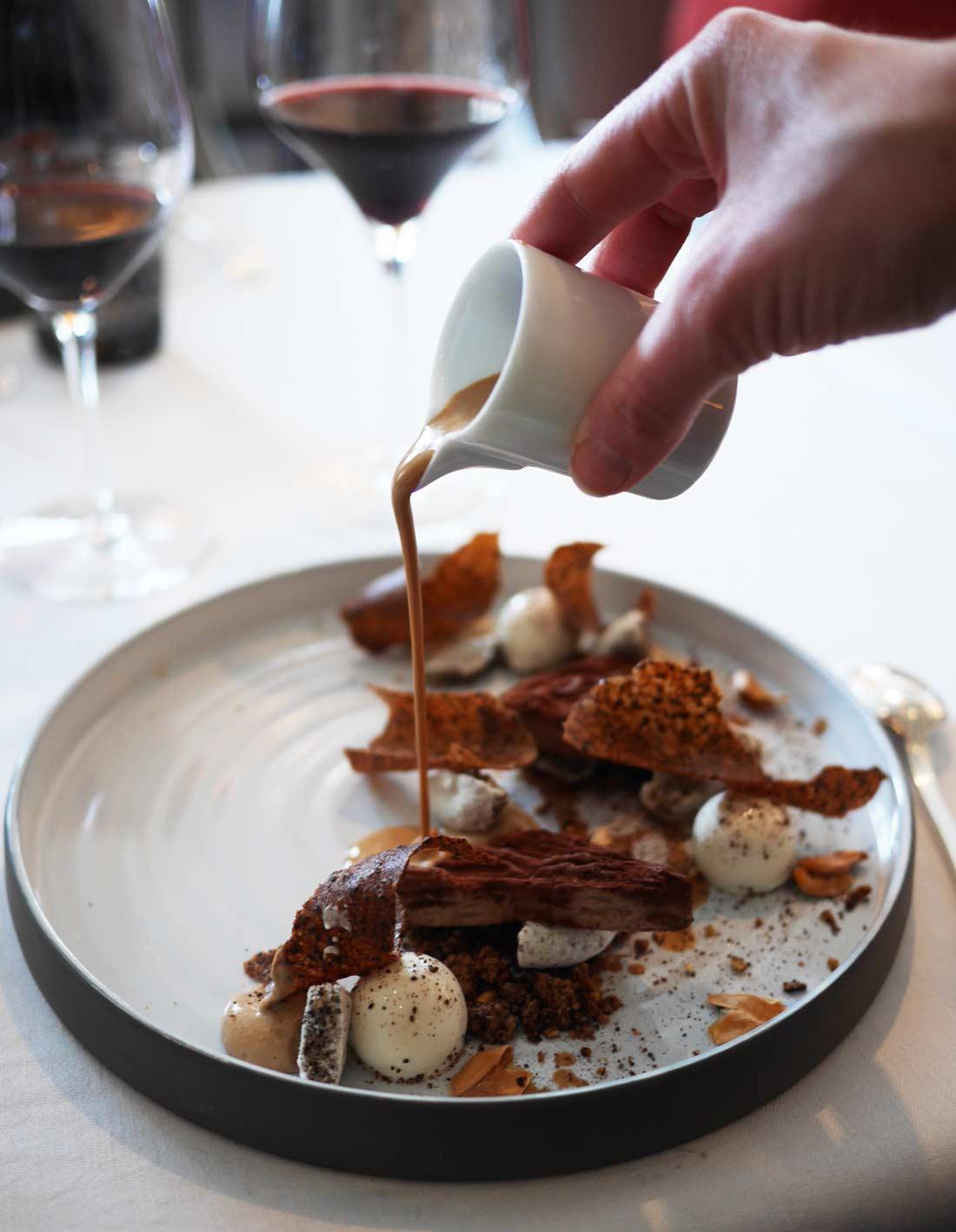 Fèves de cacao de Papouasie, crues, glacées et fumées