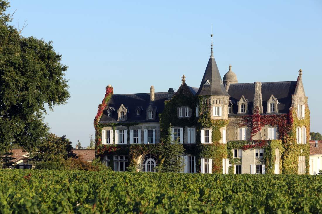 Vue extérieure du Château Lascombes