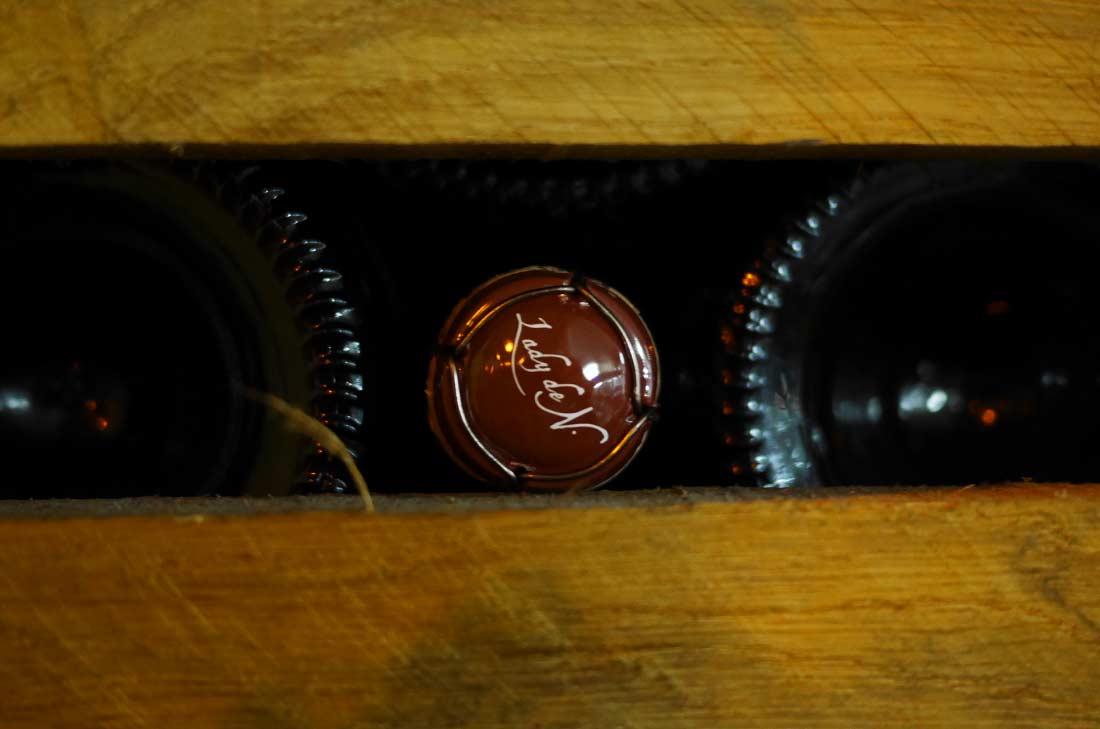 capsule de champagne Le Brun de Neuville