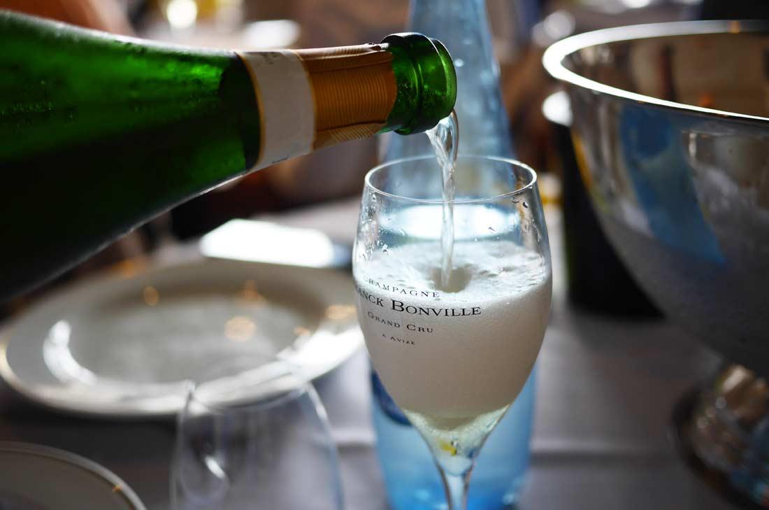 champagne Franck Bonville à Avize