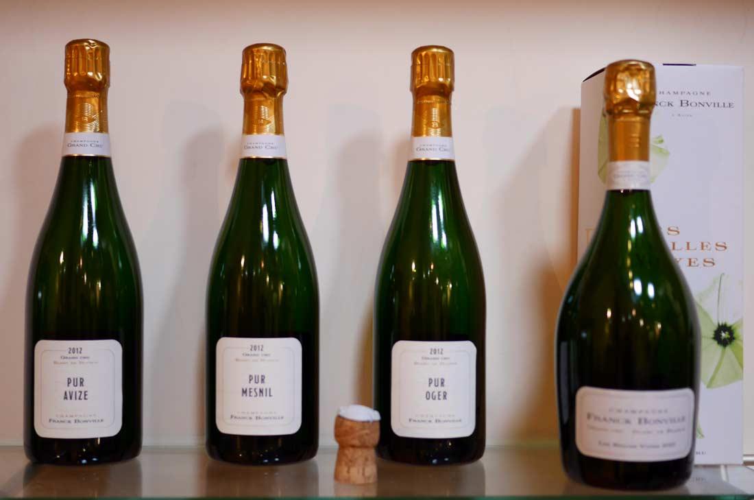 champagnes Franck Bonville