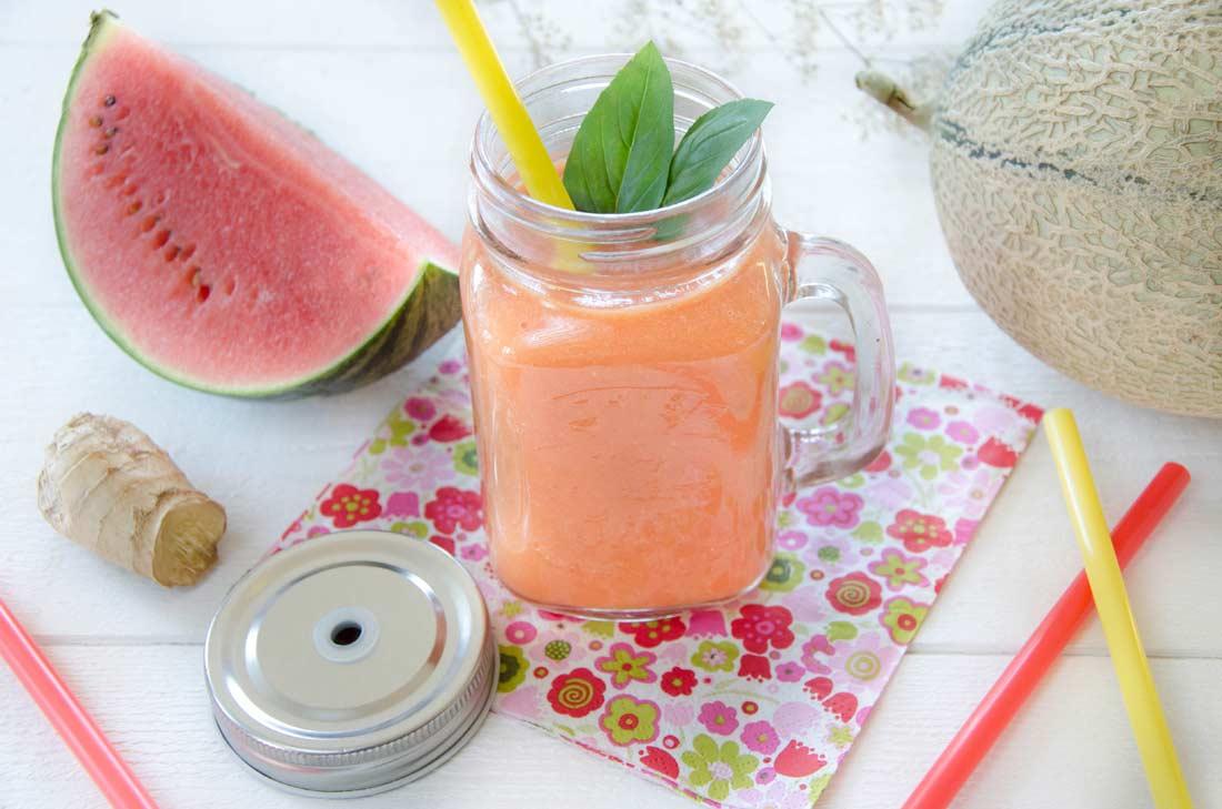 Gaspacho pastèque melon
