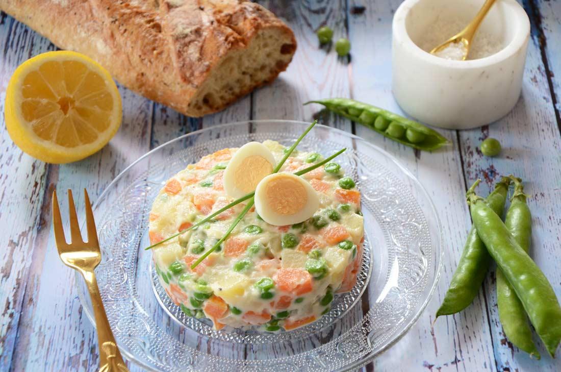 Macédoine de légumes maison