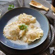 ravioles poulet lait de coco