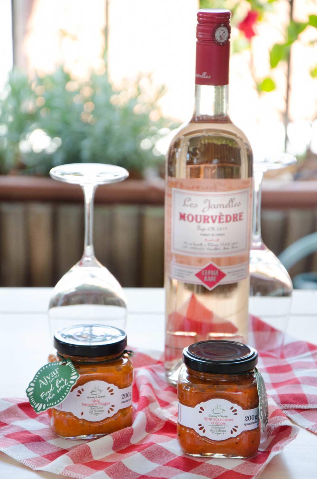 Tarte couronne Ajvar, une recette de tapenade de poivrons de la marque Granny's secret