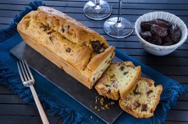 cake aux lardons et aux pruneaux