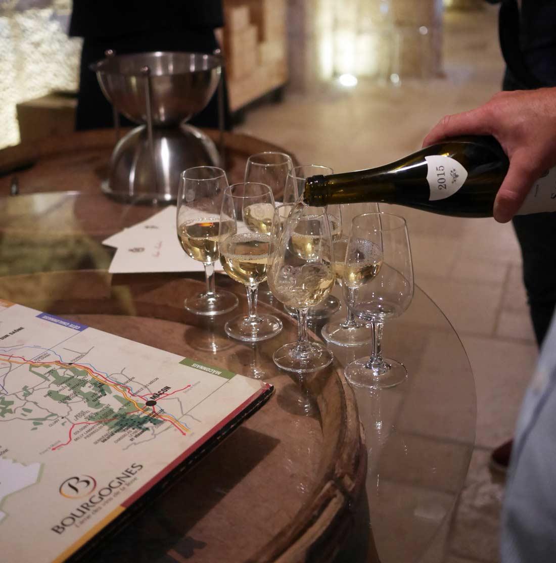 dégustations vin de Bourgogne