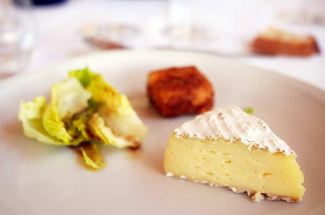 fromage, déjeuner Château Cambon La Pelouse