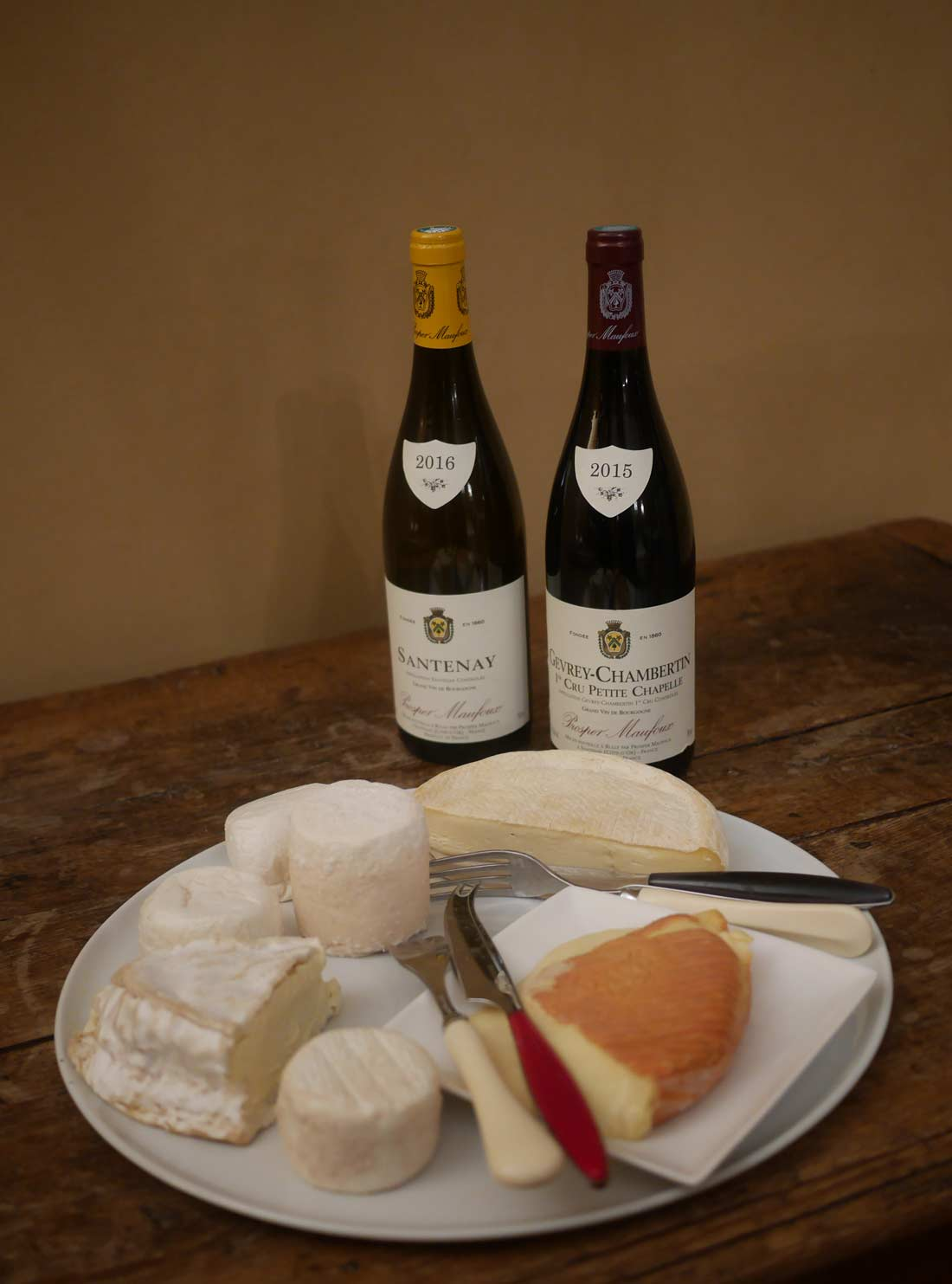 fromages de Bourgogne