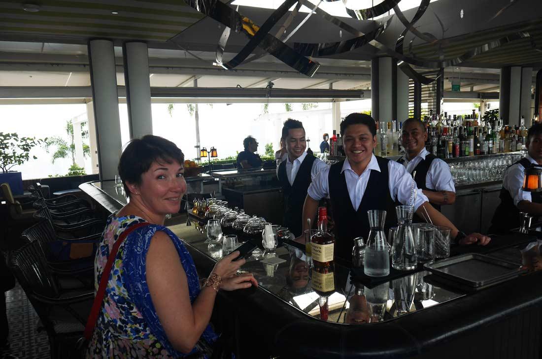 Bar du spago à Singapour