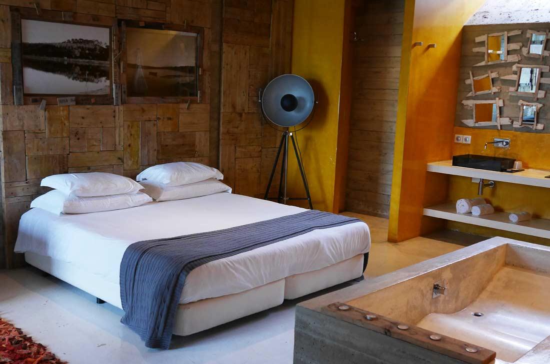 ma chambre à l'hôtel Rio do Prado
