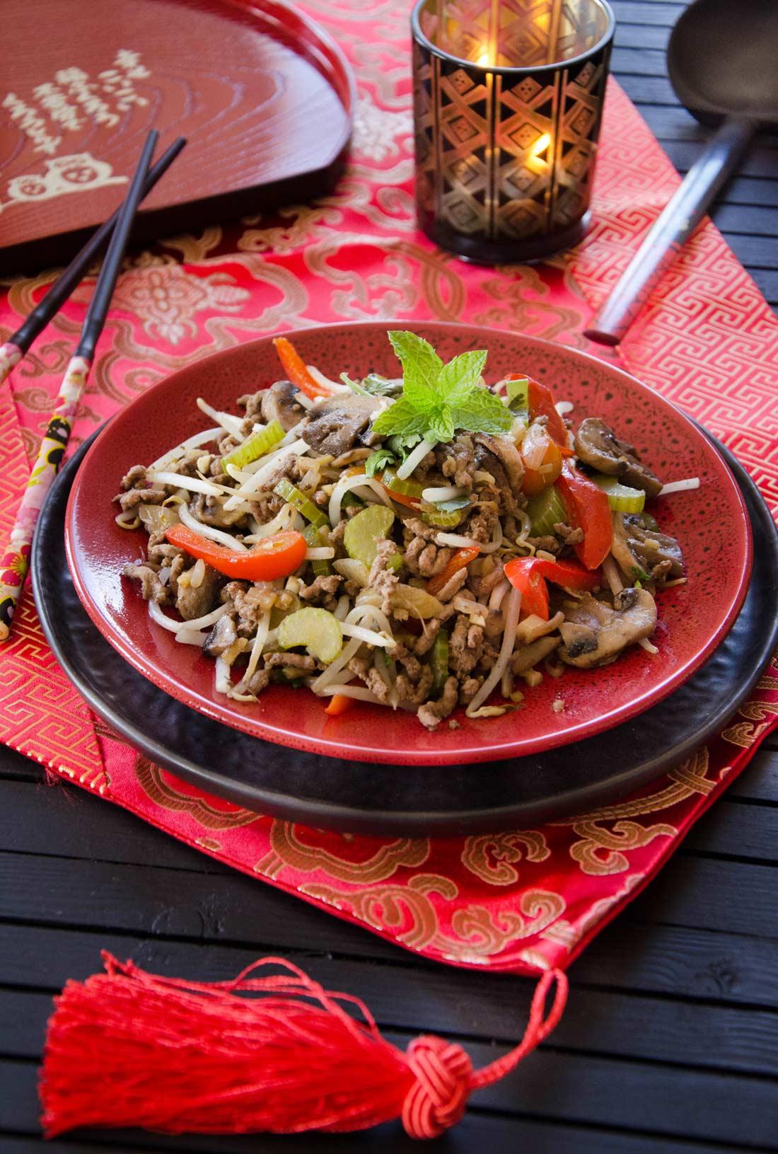 Chop suey fait maison