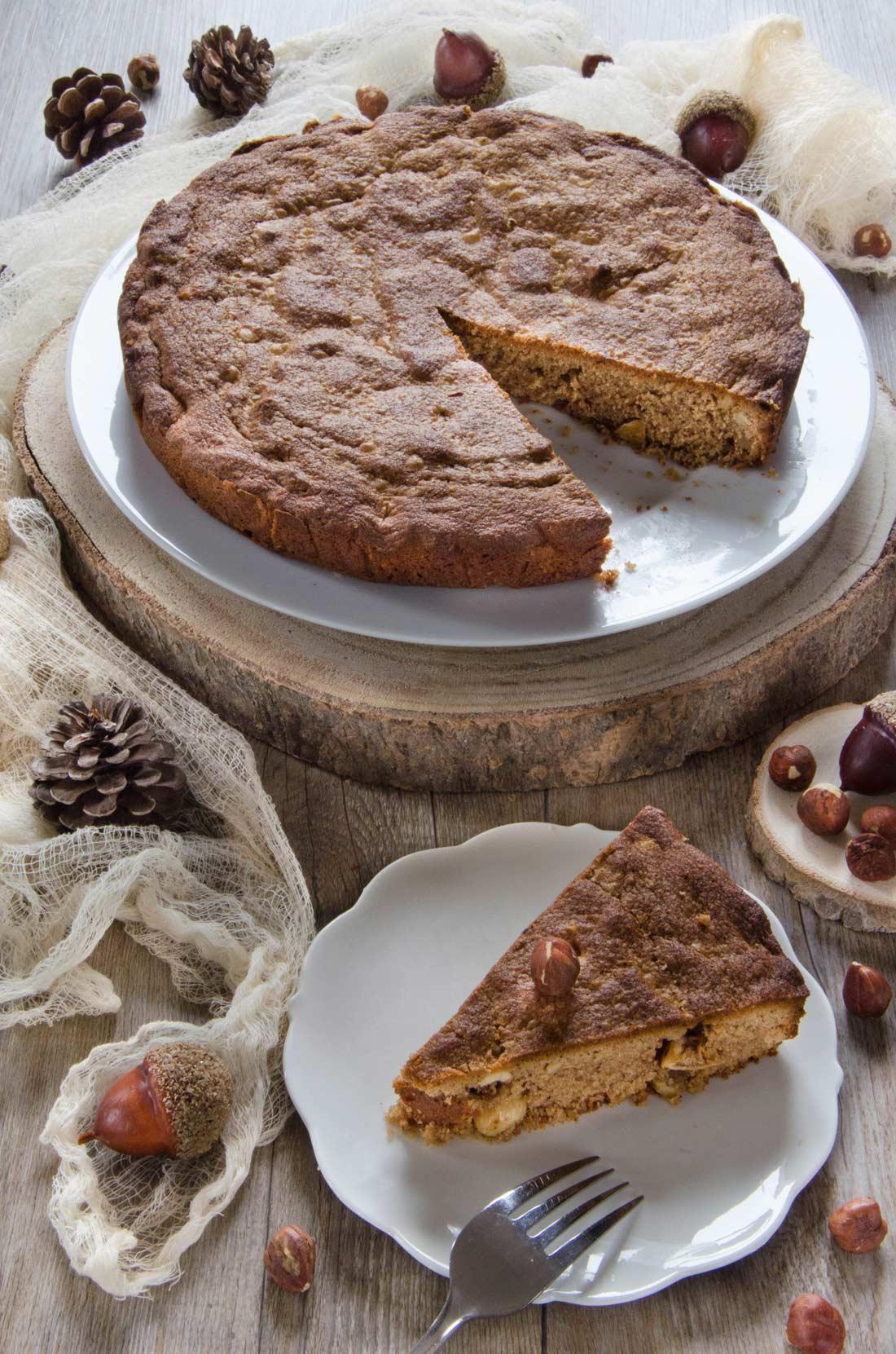 Recette de gâteau praliné noisettes maison