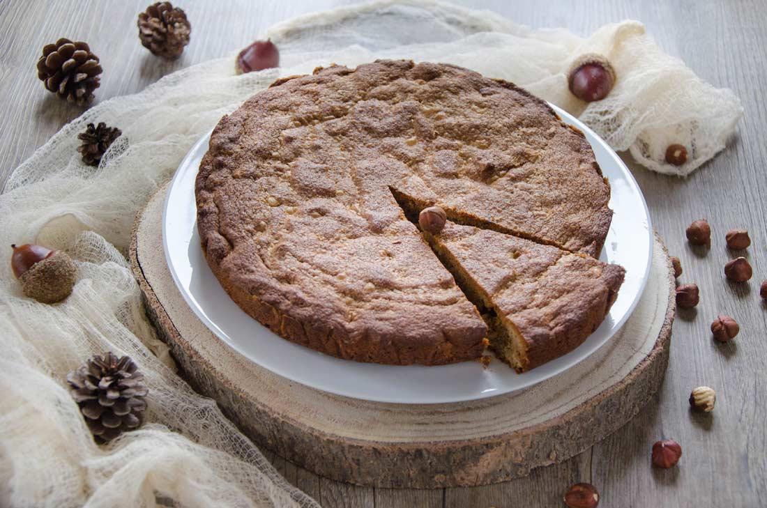 gâteau praliné noisettes