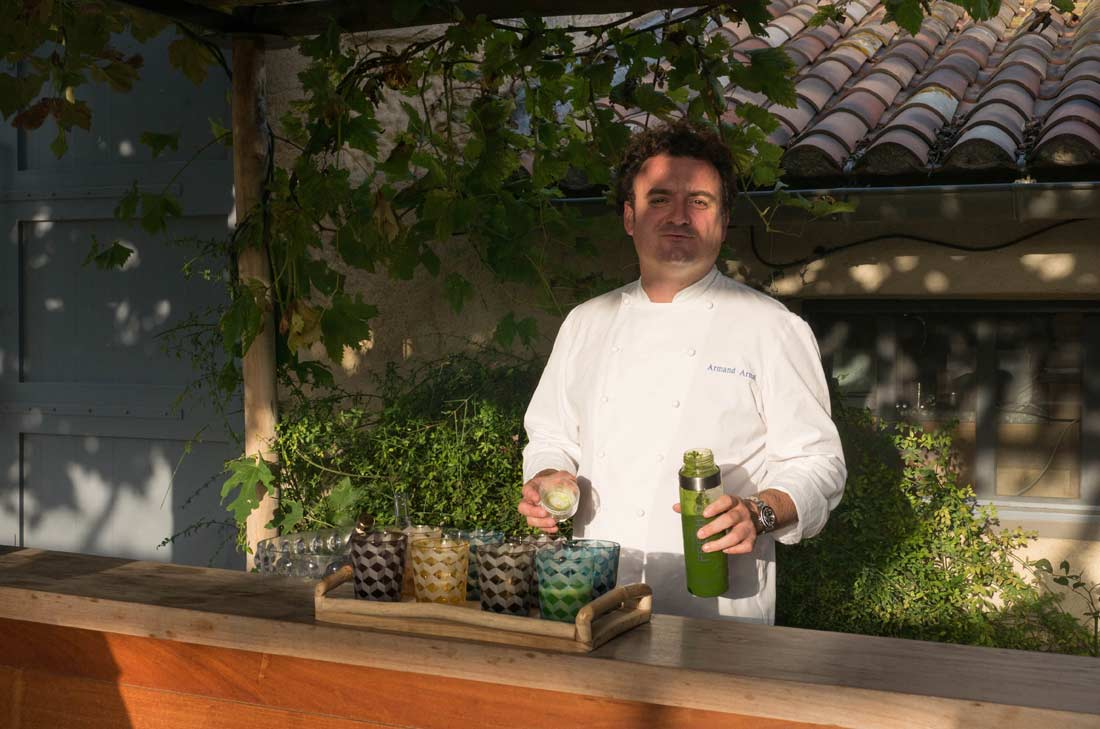 Armand Arnal, Chef de La Chassagnette