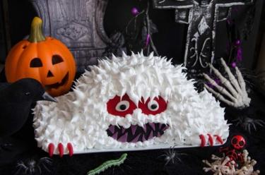 Gâteau monstre d'Halloween
