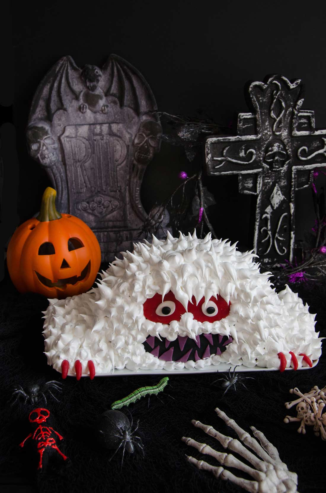 Gâteau monstre d'Halloween