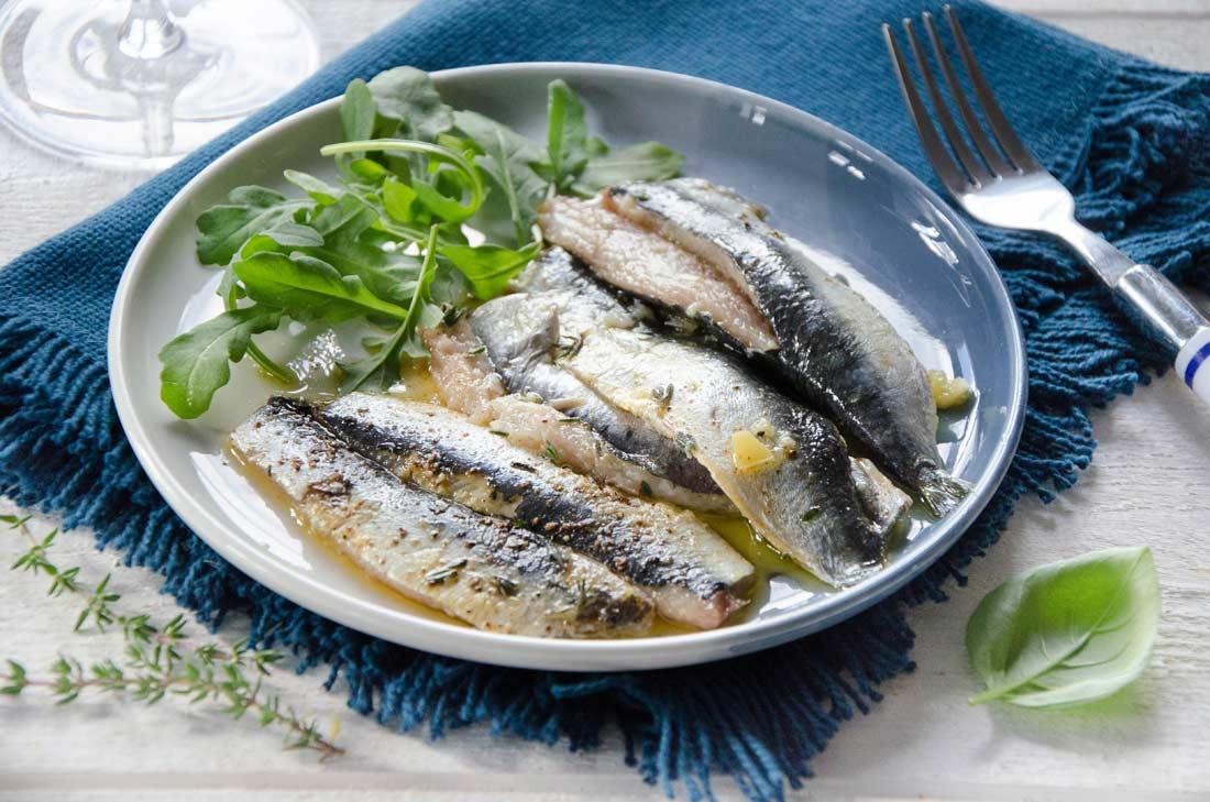 sardines au citron confit