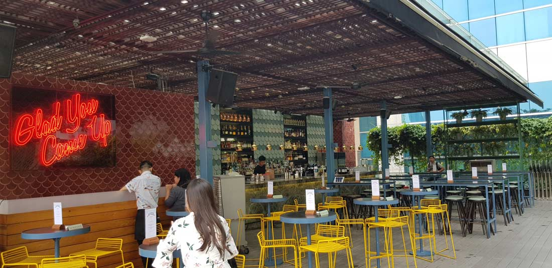 bar Loof à Singapour
