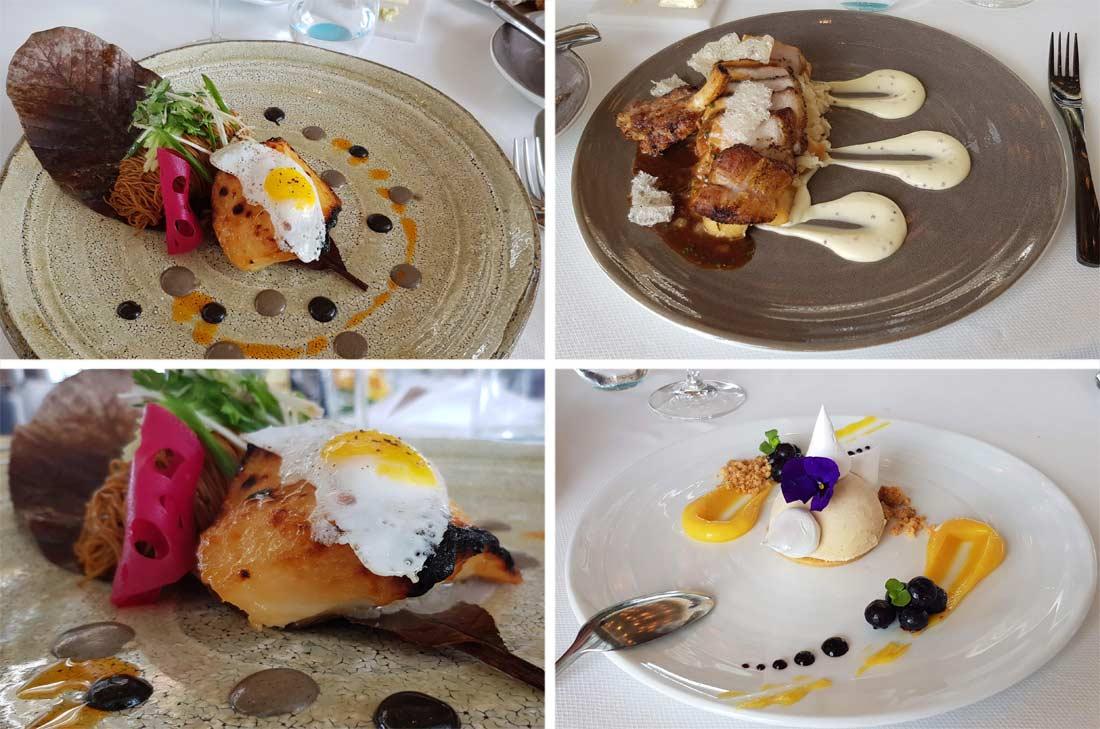 déjeuner restaurant Spago Singapour