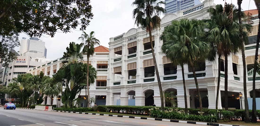 Hôtel Raffles à Singapour