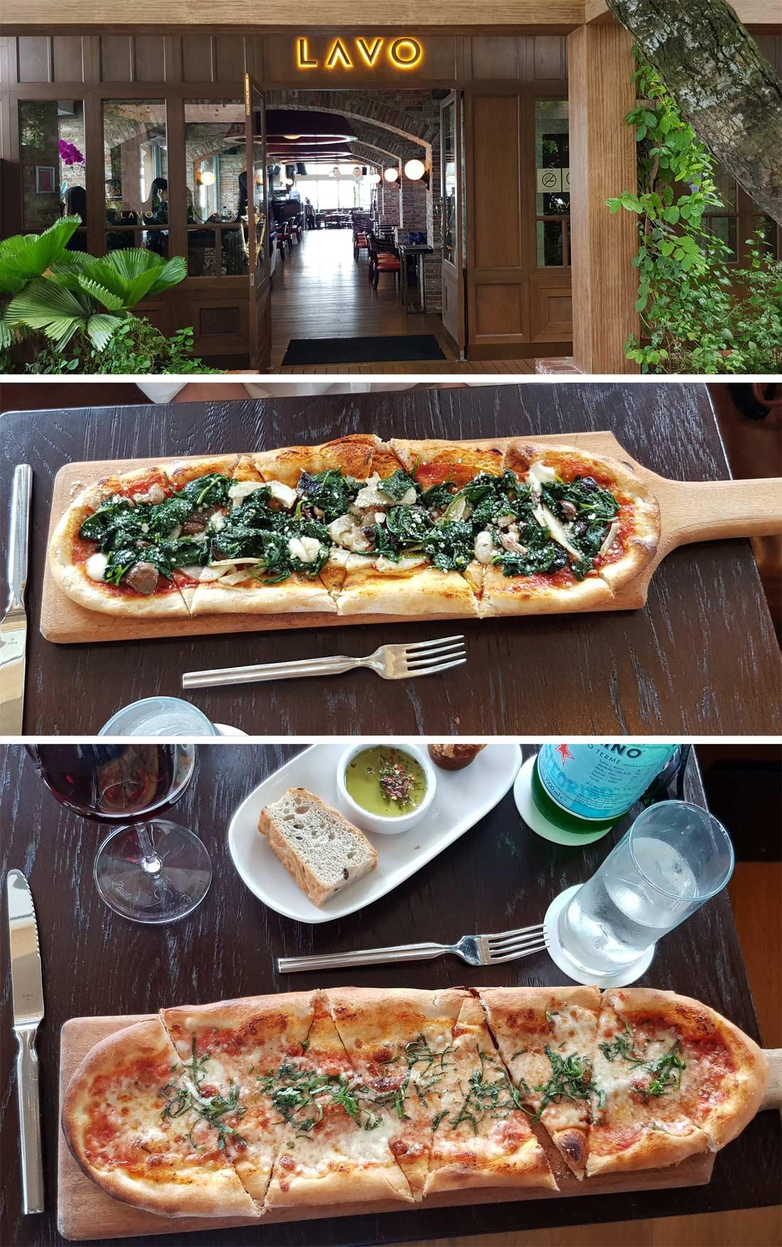 Restaurant Lavo, dans le Marina Bay Sands à Singapour