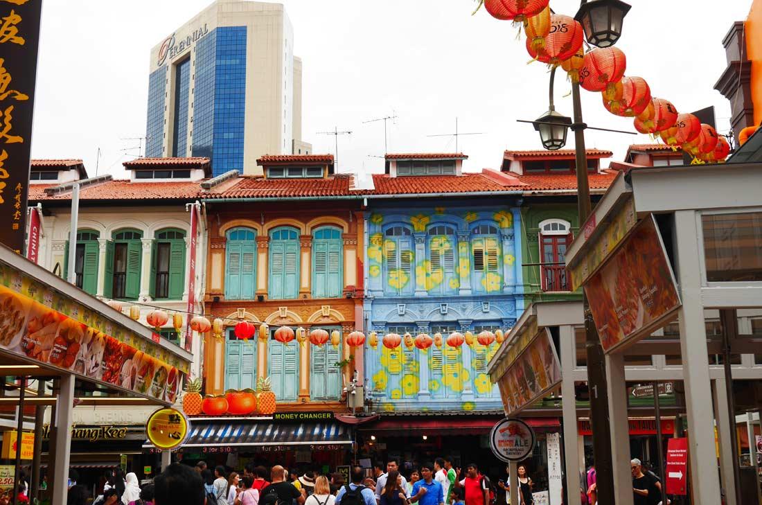 Quartier chinois de Singapour