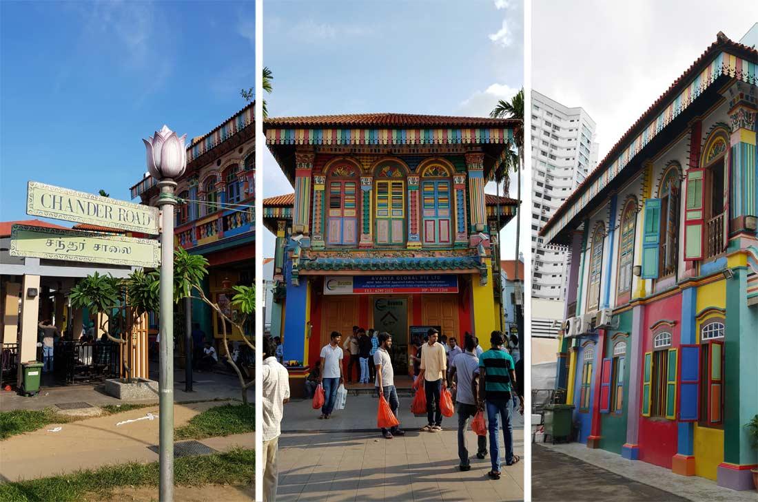 Quartier indien à Singapour