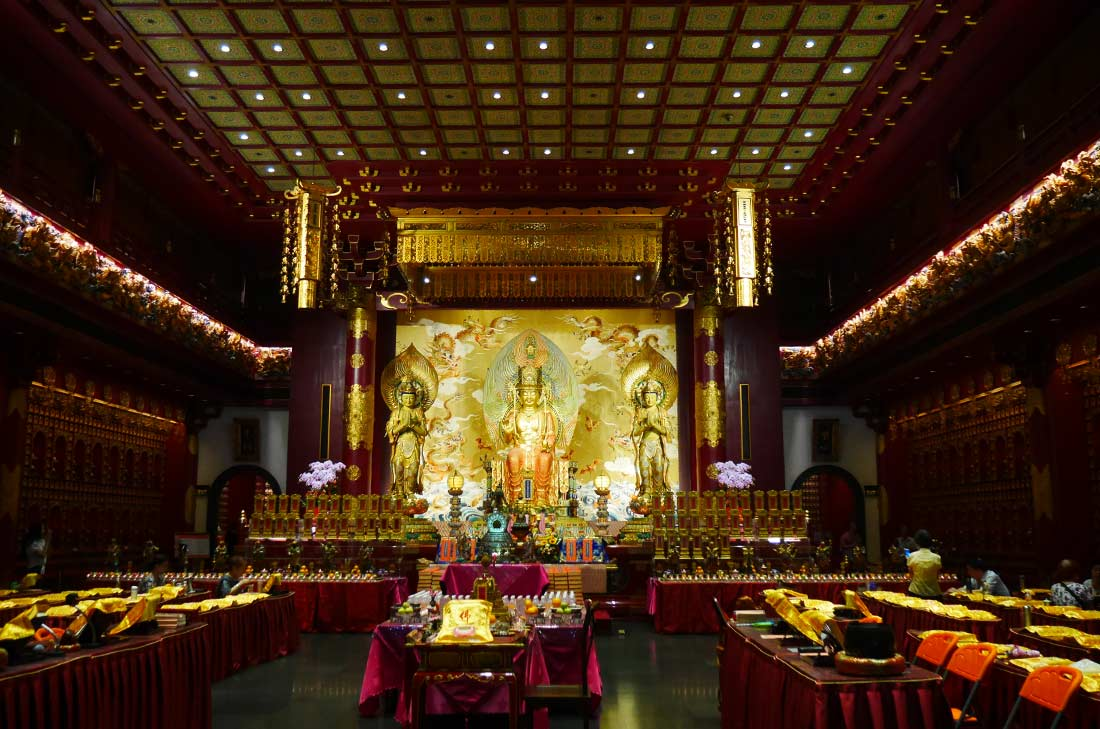 Relic buddha Temple