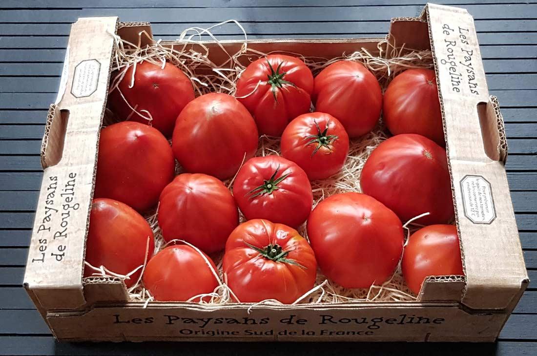 tomates paysans de Rougeline
