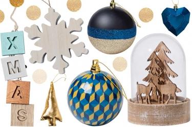 Décoration de Noël enseigne Carrefour