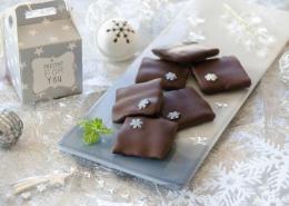 chocolats fourrés à la menthe comme un after eight