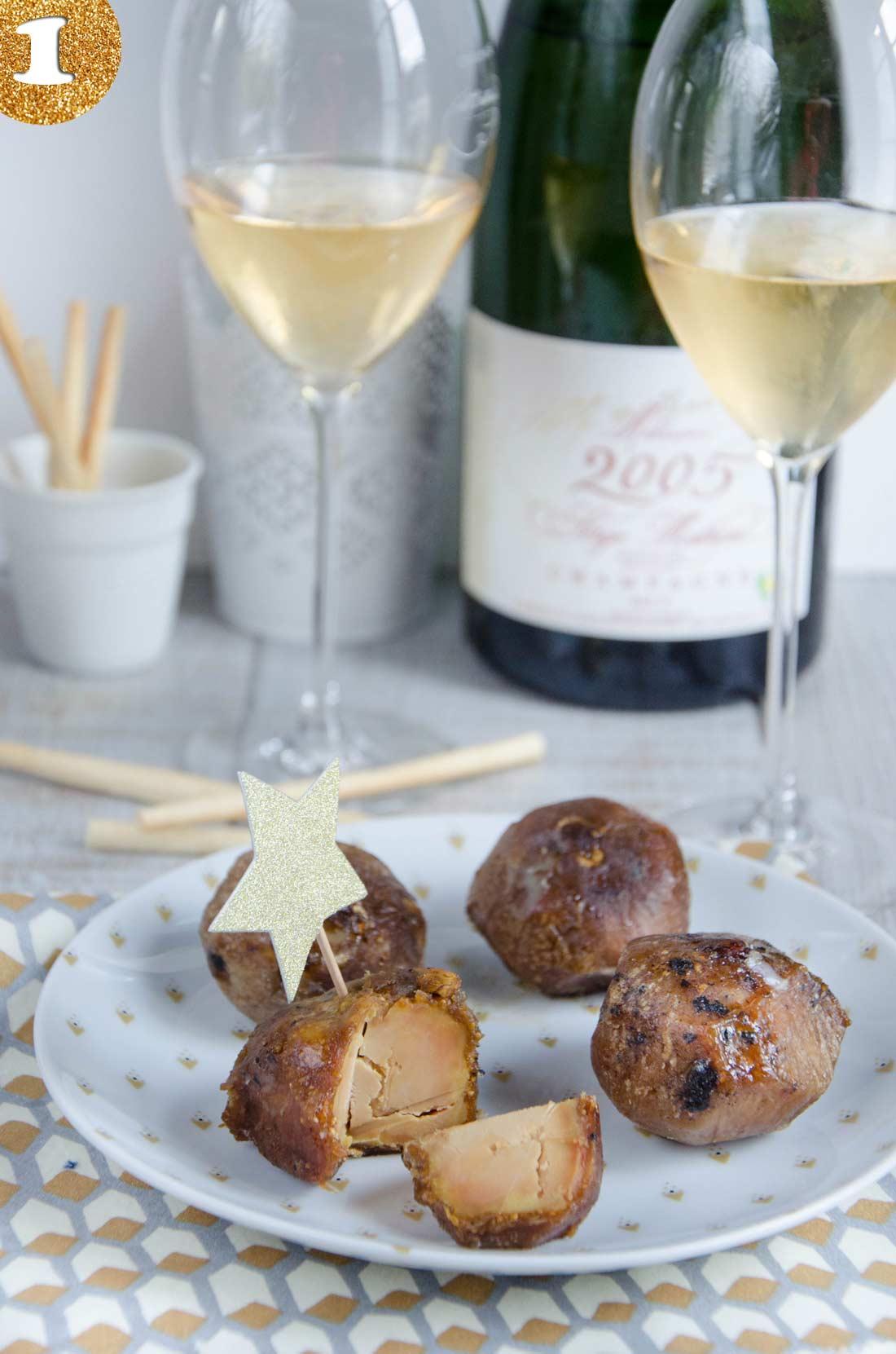 Les extraordinaires figues au foie gras de la famille Tribier, achetées au Pari Fermier
