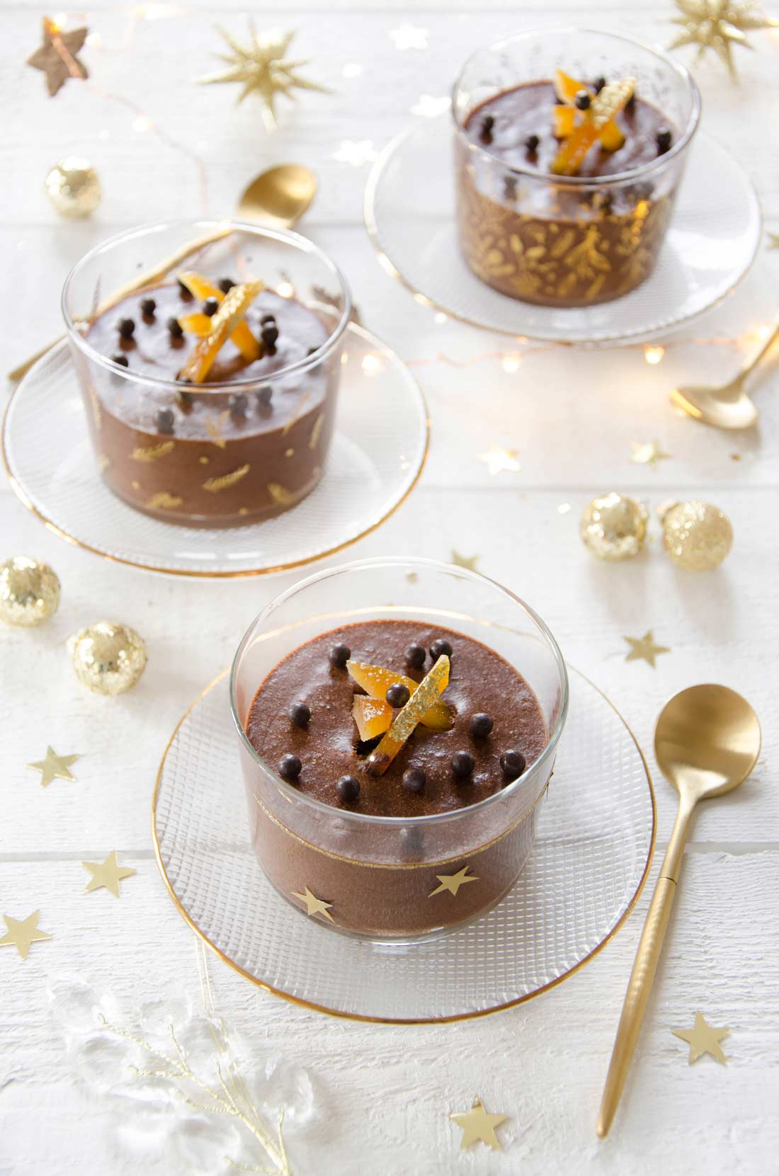 Mousse chocolat Cointreau
