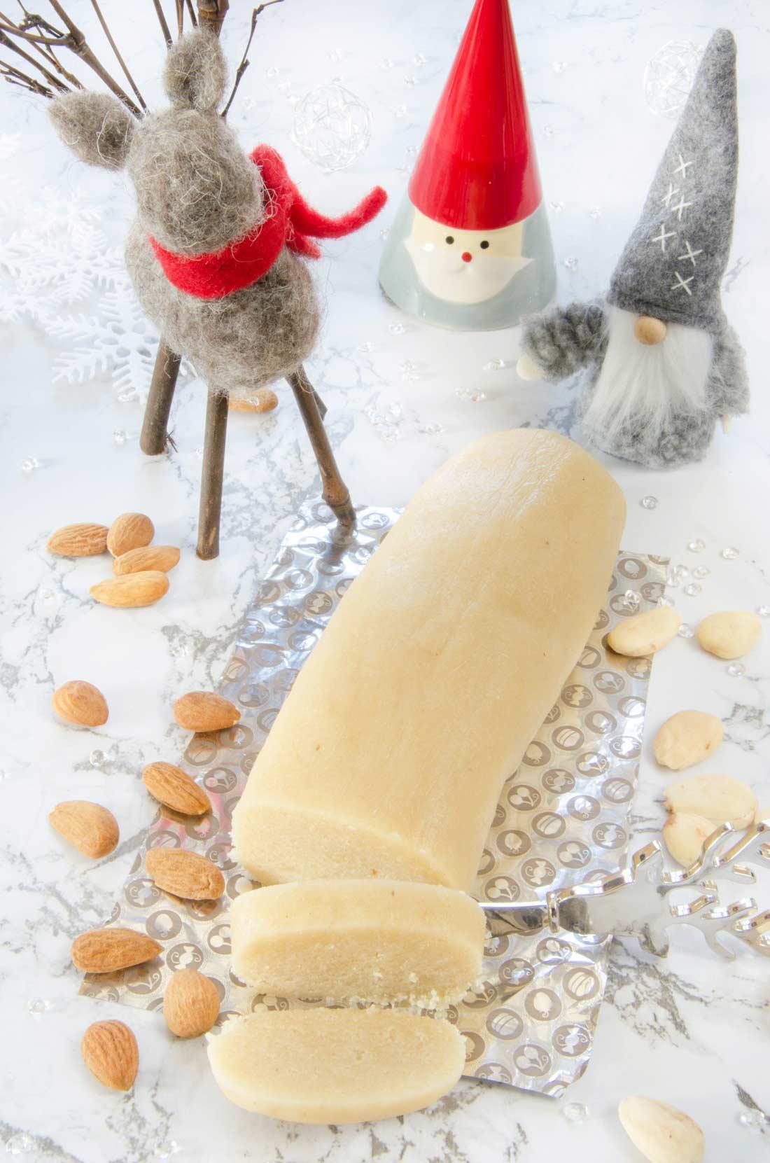 pâte d'amande fait maison expresse et facile