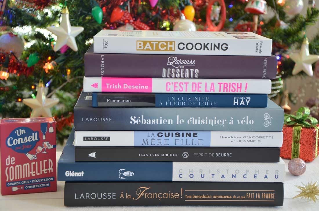 sélection livres de cuisine pour Noël 2018