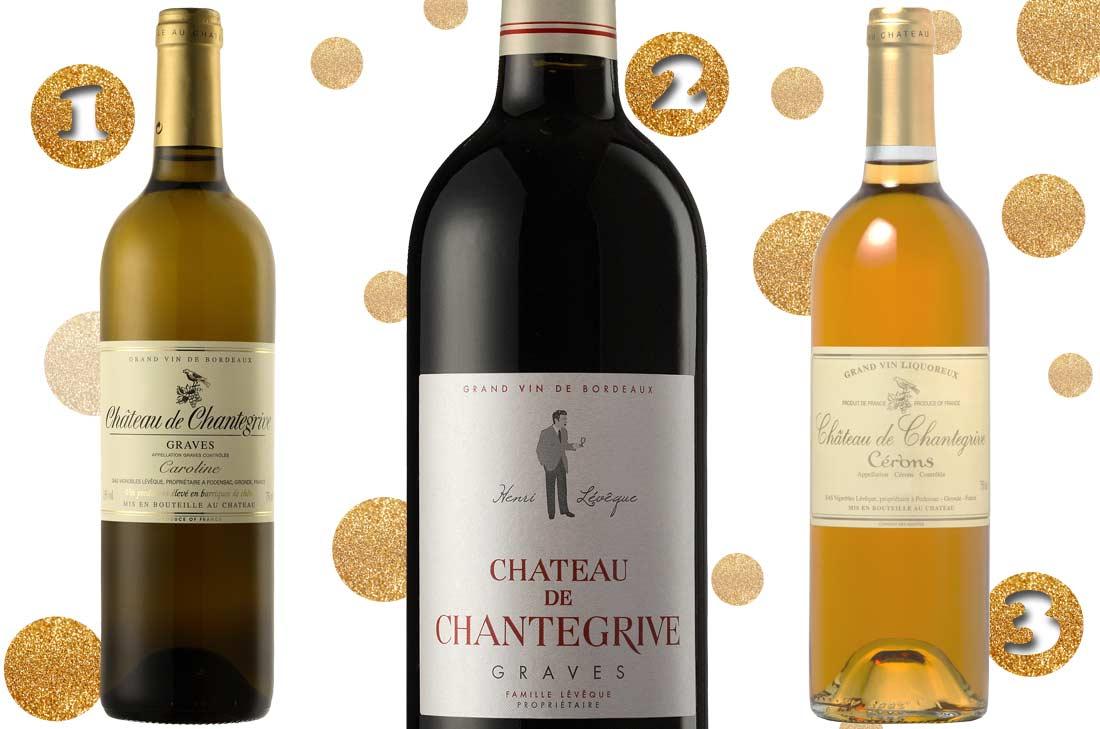 Sélection vins de Chantegrive