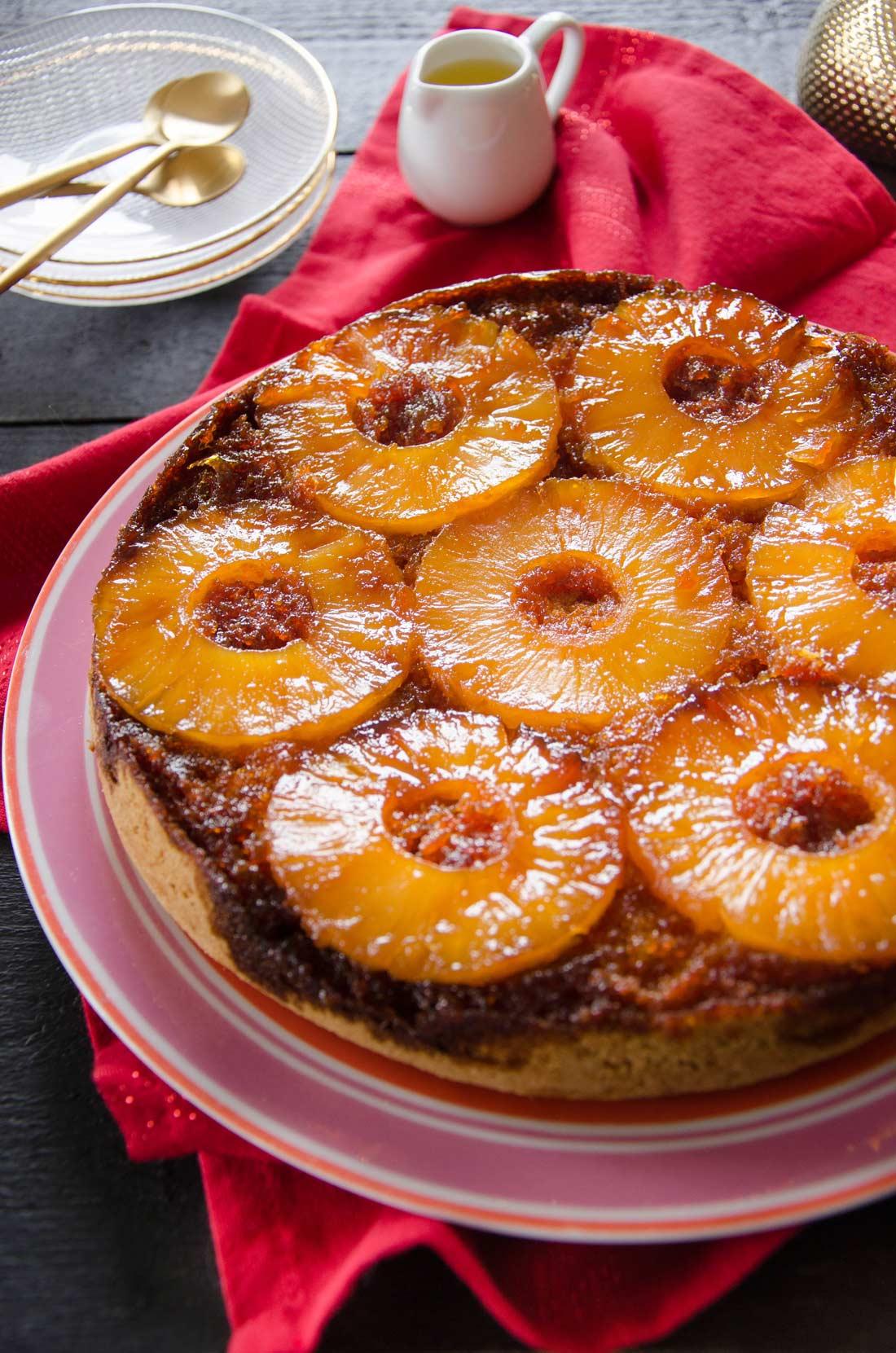 gâteau à l'ananas maison