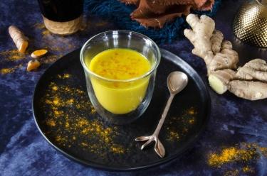 Golden Latte, boisson énergisante au curcuma