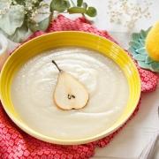 soupe céleri rave et poire maison