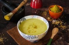 Soupe lentilles coco curry
