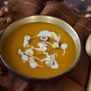 soupe veloutée butternut noisettes