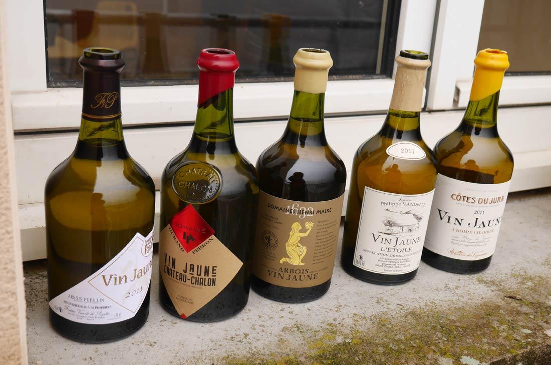 clavelins de vin jaune