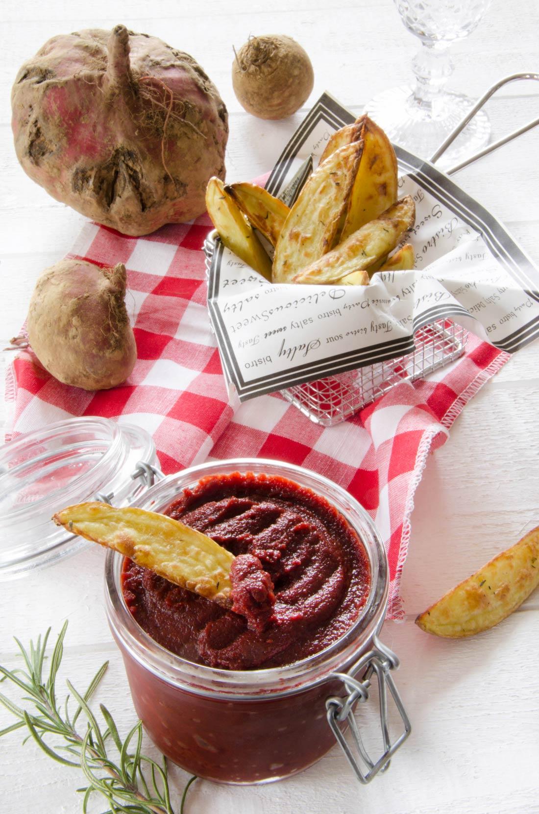ketchup de betterave fait maison