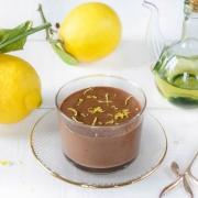 Mousse chocolat citron huile d'olive