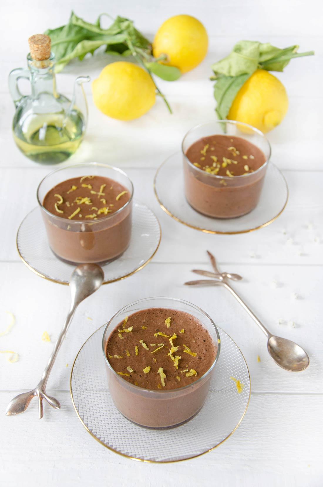 Mousse chocolat citron huile d'olive d'Alain Passard