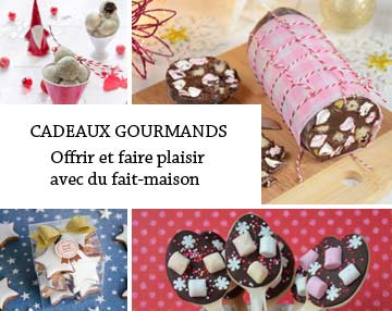 Toutes les recettes de cadeaux gourmands de Turbigo Gourmandises