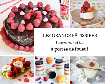 Toutes les recettes de Grands pâtissiers de Turbigo Gourmandises